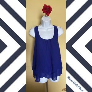 Flowy Blouse with Ruched Back